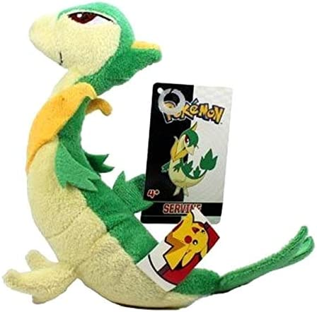 Pokemon Servine Soft Plush Toy from Snivy Figure Doll 11 inch Gift