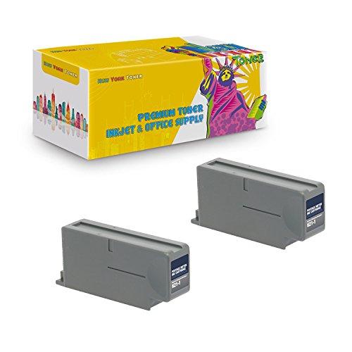 New York TonerTM New Compatible 2 Pack 621-1 High Yield Inkjet For Pitney Bowes - DM500, DM525, DM550, DM575. -- Red (Pitney Bowes 621 1 Red Ink Cartridge)