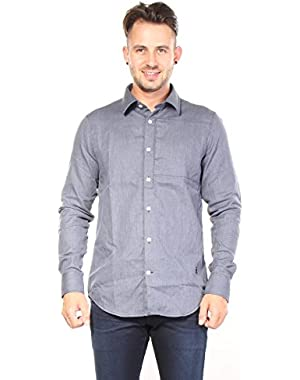 G-star Men's Rivo Button Down Shirt Shirts