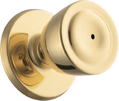 WEISER LOCK GAC331 B5 6L1 Beverly Privacy Knob, Antique Brass by Weiser