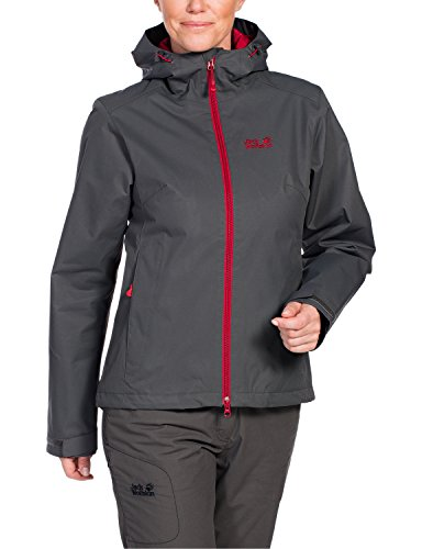 Jacket Jack Dark Chilly Wolfskin Women's Morning Steel Padded fqwK8awXSU