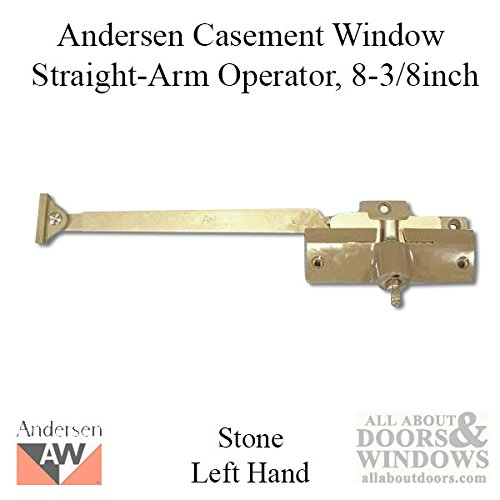 Andersen® Straight Arm Operator (Left Hand) with 8-3/8'' Arm Length in Stone Color (1974-1995)