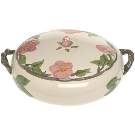 Franciscan Desert Rose Dinnerware Covered Vegetable Bowl