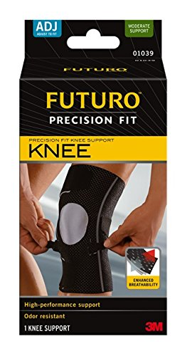 Futuro Precision Fit Knee Support, Adjustable, Moderate (Fit Knee Support)
