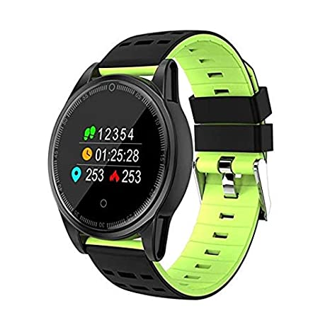 Amazon.com: YWYU Smart Watch for Android/iOS Phones,Round ...