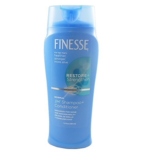 Finesse Enhancing Shampoo (Finesse Self Adjusting 2 in 1 Texture Enhancing Shampoo and Unisex Conditioner, 13 oz. (3-Pack))