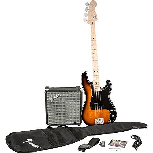 Squier by Fender P Bass Guitar Pack - Sunburst