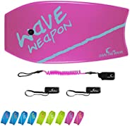 Own the Wave 'Beach Attack Pack' - Wave Weapon Super Lightweight Body-Board - Comes with Premium Wrist