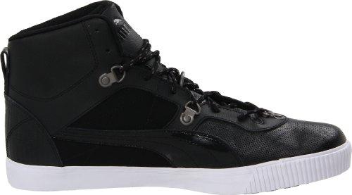 Puma Mens Tipton L Lux Mode Sneaker Svart-vit