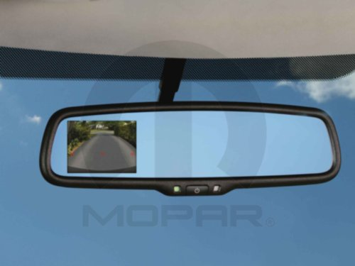 2013-2015 Dodge Ram Mopar Rear View Mirror W/ Backup Camera - 82213752AB
