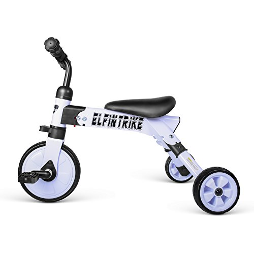 besrey Toddler Tricycle 2 In 1 Trike Baby Balance Bike Foldable Kids Riding Toys for Ages 12 Months Old and up Boys or Girls by besrey (Image #6)
