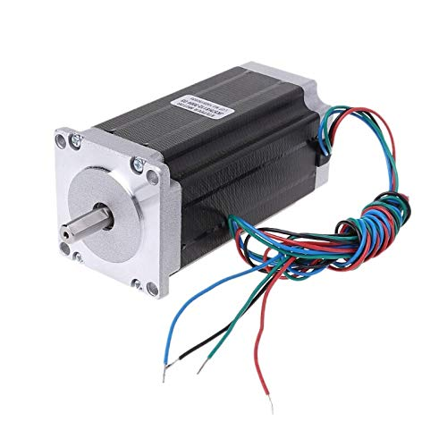 (Stepper Motor - Single Shaft Nema23 Stepper Motor 57hs112 3004 3a 4 Lead 2.8n.m Cnc Engraving - Board Flange Splitter Connector Raspberry Controller Gears Puller Maxima Motion Gearbox 2004 Sp)