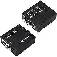 kwmobile Conversor de Audio analógico a Digital: Amazon.es: Electrónica