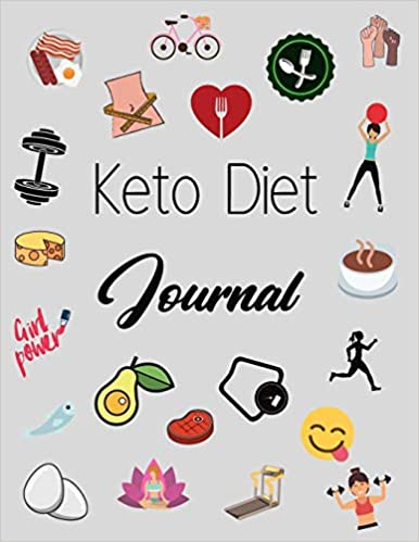 Keto Diet Journal For Women: Weight Loss Tracker, Monthly Progress, Task Challenges, Ketogenic Foods, Grocery Ideas and much more !
