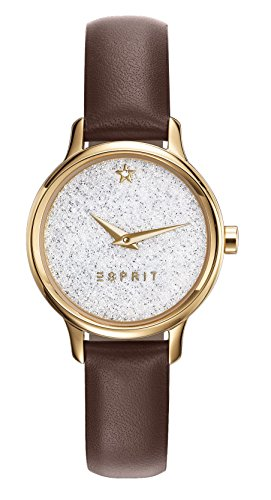Esprit Watch TP10928 Brown - ES109282002-Brown - calfskin-Round - 28 mm