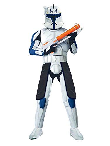 Rubie's Costume Co Deluxe Clonetrooper Captain Rex Costume, -