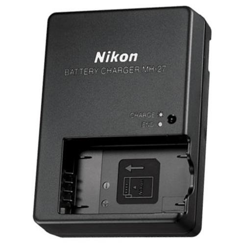 MH-27 Battery charger for Nikon EN-EL20, EN-EL20a,MH-27,Nikon Coolpix A,Nikon 1 AW1,Nikon 1 J1,Nikon 1 J2,Nikon 1 J3,Nikon 1 S1,Nikon 1 V3, and Blackmagic Pocket Cinema Camera