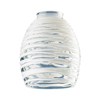 Westinghouse Lighting 81314 Rope Design Glass Ceiling Fan Light Shades, Must Purchase in Quantities of 4
