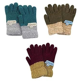 Amazon.com: (3 Pairs) Kids Boys Girls Warm Soft Winter