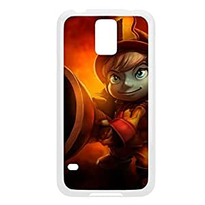 Tristana-004 League of Legends LoL case cover Samsung Galaxy Note3 - Plastic White