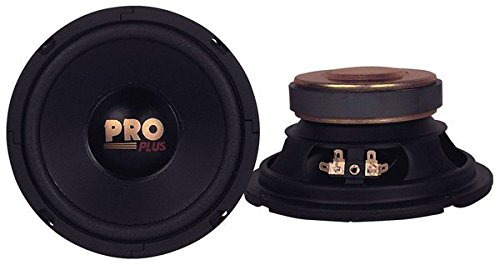 Car Mid Bass Speaker System - Pro 6.5 Inch 200 Watt 4 Ohm Vehicle Mid-Bass Component Poly Woofer Audio Sound Speakers w/ 30 Oz Magnet Structure, 2.5