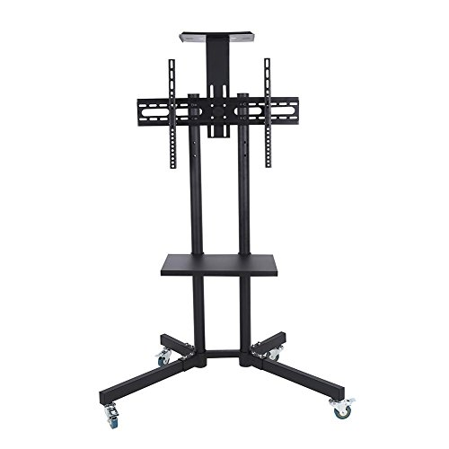 Wal front TV Mount,Mobile TV Cart Adjustable Stand Mount for 32-65 Inch LCD/LED Flat Panel Screen with Wheels (1203911) by Wal front (Image #9)