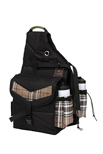 (Kensington KPP All Around Thermal Saddle Bags, Deluxe Black Plaid, One Size)