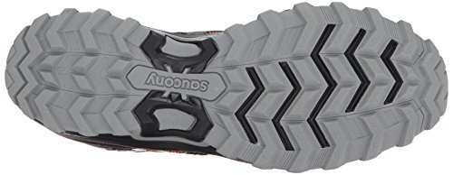 Saucony Mens Excursion TR11 Running Shoe Orange Black
