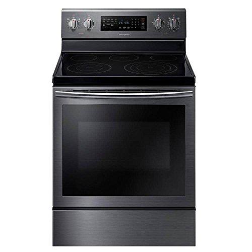 Samsung NE59J7630SG 30″ Black Stainless Steel Electric Range – Convection