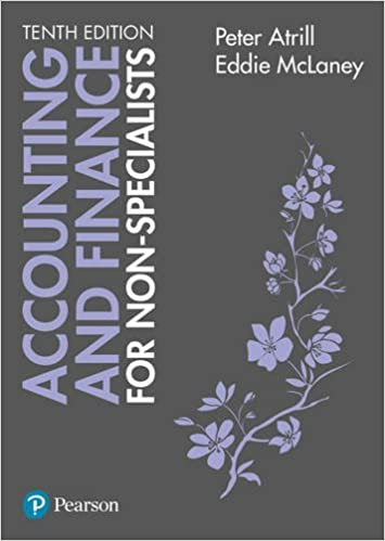 Accounting and finance for non specialists amazon dr peter accounting and finance for non specialists amazon dr peter atrill eddie mclaney 9781292135601 books fandeluxe Choice Image