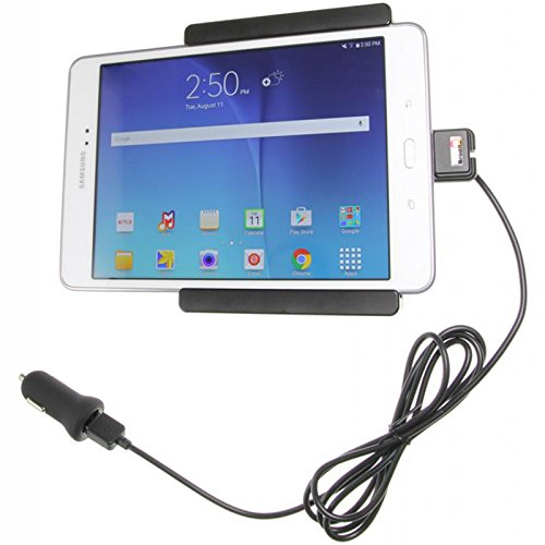 with cig-Plug for Samsung Galaxy Tab A 8.0 Brodit 521754 Active Holder