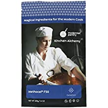 Hydroxypropyl Methylcellulose - Methocel F50 (Molecular Gastronomy) ⊘ Non-GMO ☮ Vegan ✡ OU Kosher Certified - 400g/14oz
