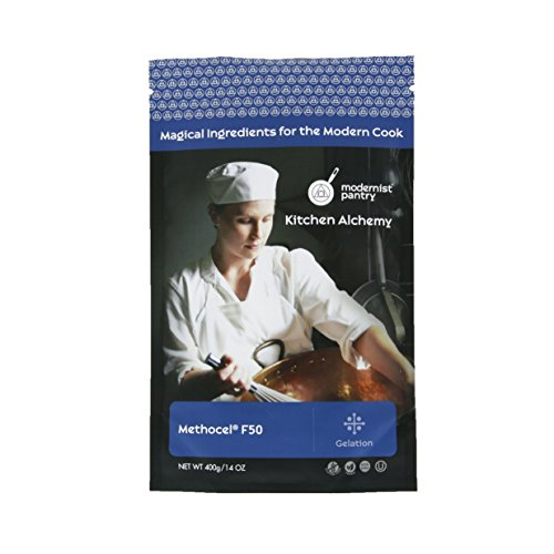 Hydroxypropyl Methylcellulose - Methocel F50 (Molecular Gastronomy) ⊘ Non-GMO ☮ Vegan ✡ OU Kosher Certified - 400g/14oz by Modernist Pantry