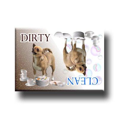 Chihuahua Dishwasher Magnet No 1