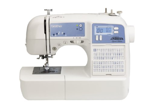 Brother XR9500PRW Project Runway Limited Edition Sewing Machine with 100 Built-in Stitches and Quilting Table (Maquina De Coser Brother compare prices)