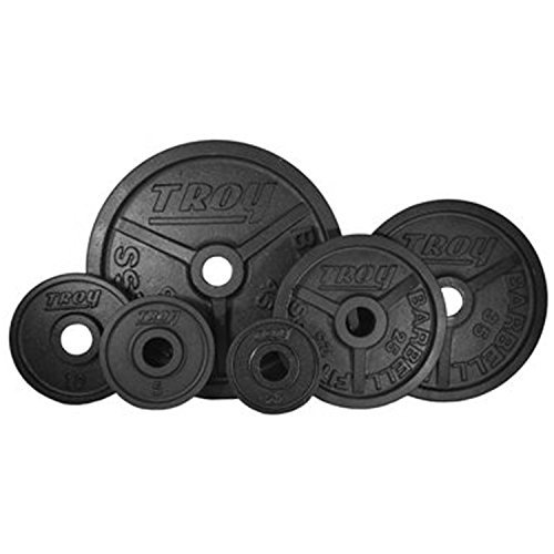 Troy High Grade Fully Machined Wide Flanged Olympic Plate