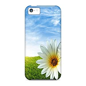 Durable Defender Cases For Iphone 5c Tpu Covers(lady Bug)