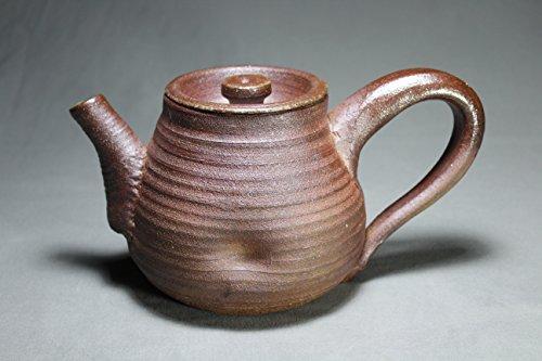 - 28oz Brown wheel thrown teapot.