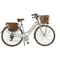 Canellini Via Veneto by vélo vélo vélo CTB Femme Vintage Retro Dolce Vita Aluminium Beige