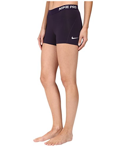 Nike Women's Pro Cool 3-Inch Training Shorts (Purple Dynasty/Bleached Lilac/X-Small) by Nike (Image #2)