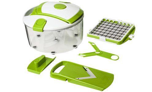 Salad Chef Genius Smart – For Cutting, Slicing and Paring Fruit and...