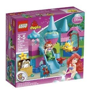 [해외] LEGO (레고) DUPLO PRINCESS ARIEL UNDERSEA CASTLE 10515 블럭 장난감 (병행수입)