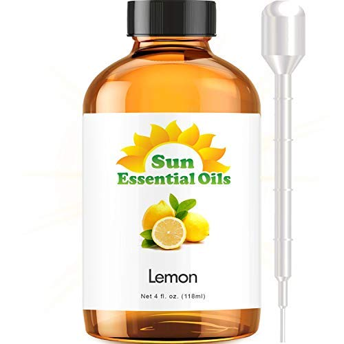 lemon essential oil 4 oz - 3