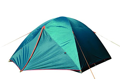 NTK Colorado GT 8 to 9 Person 10 by 12 Foot Outdoor Dome Family Camping Tent 100% Waterproof 2500mm, Easy Assembly, Durable Fabric Full Coverage Rainfly – Micro Mosquito Mesh for Maximum Comfort.