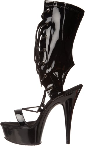 Delight Pat 2 600 Pleaser Uk Blk blk 38 35 eu xgqBIdBFw