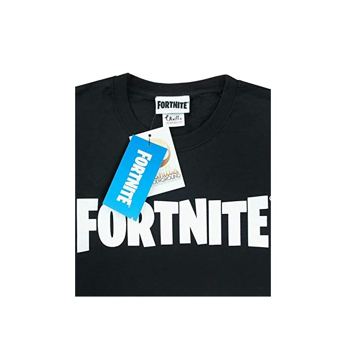 418TP6T9HkL Official Fortnite merchandise Featuring the iconic logo in white 100% Algodón