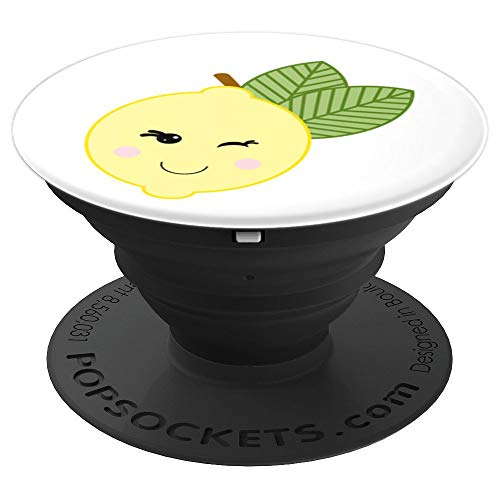 CUTE LEMON LOGO - PopSockets Grip and Stand for Phones and Tablets ()