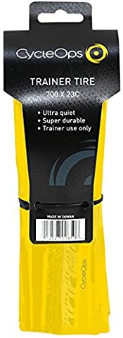 CycleOps Trainer Tire, Yellow (Trainers Bike Cycleops)
