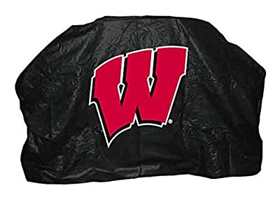 NCAA Wisconsin Badgers 68-Inch Grill Cover