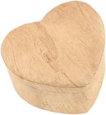 Tierra Biodegradable cremación urna funeraria de madera/corazón ...